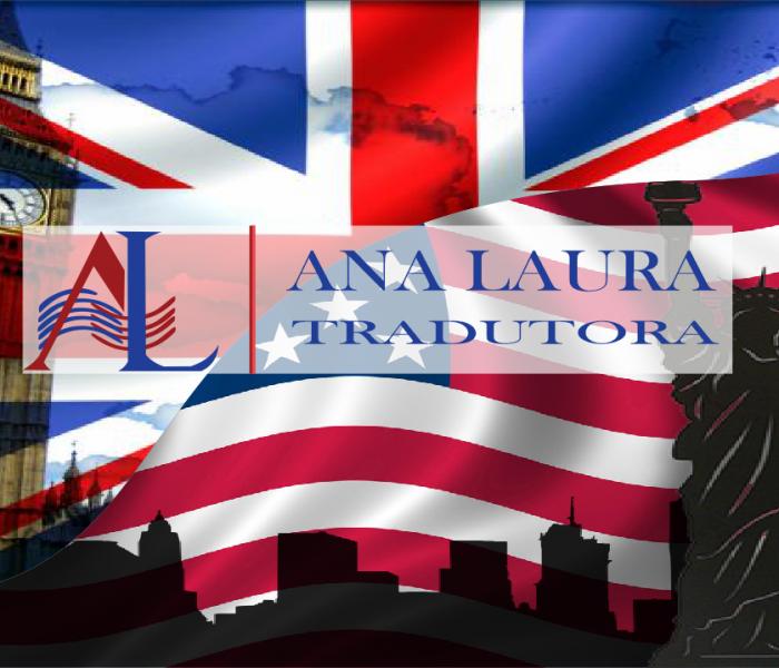 Bandeiras da Inglaterra e Estados Unidos juntas